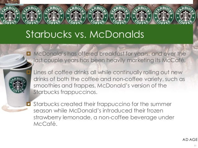 ratio analysis of starbucks vs mcdonalds Looking for the best starbucks corporation swot analysis in 2018  this starbucks swot analysis reveals how the largest coffee chain  debt-to-asset ratio.