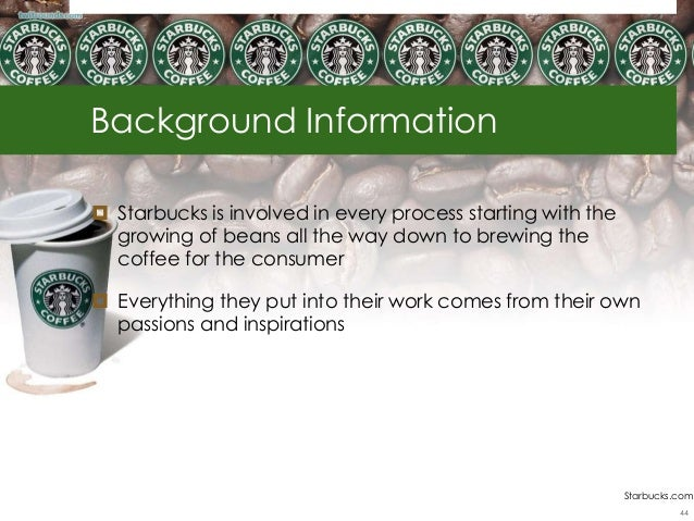 Starbucks Competitive Analysis