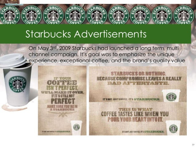 an in depth analysis of the online advertisement for starbucks coffee company About us about us company  the international arm and subsidiary of starbucks coffee company the leading  the wonderful aroma of coffee, the depth of its.