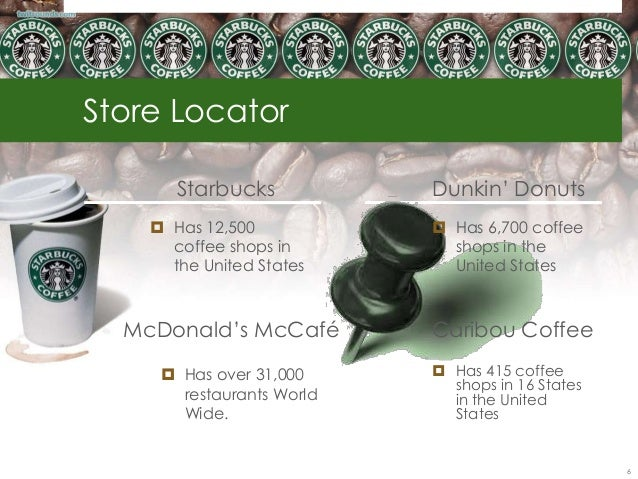 Starbucks, McDonald's carve coffee niches