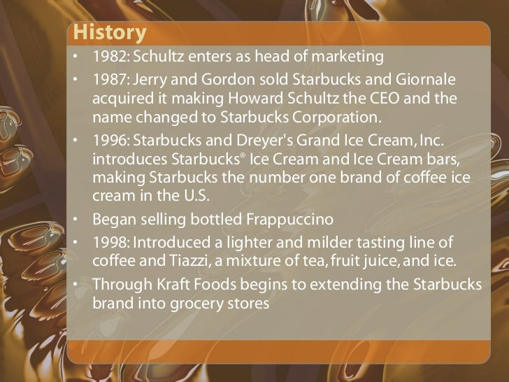 starbucks presentation The colors in the starbucks powerpoint theme are also chosen in same way to give the viewer the look and feel of the starbucks while listening to the presentations download starbucks template powerpoint- slideworld.