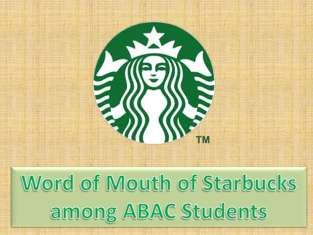 research on starbucks Many scholars have found that social media are extraordinarily useful platforms  for marketers to engage their stakeholders much research has developed.