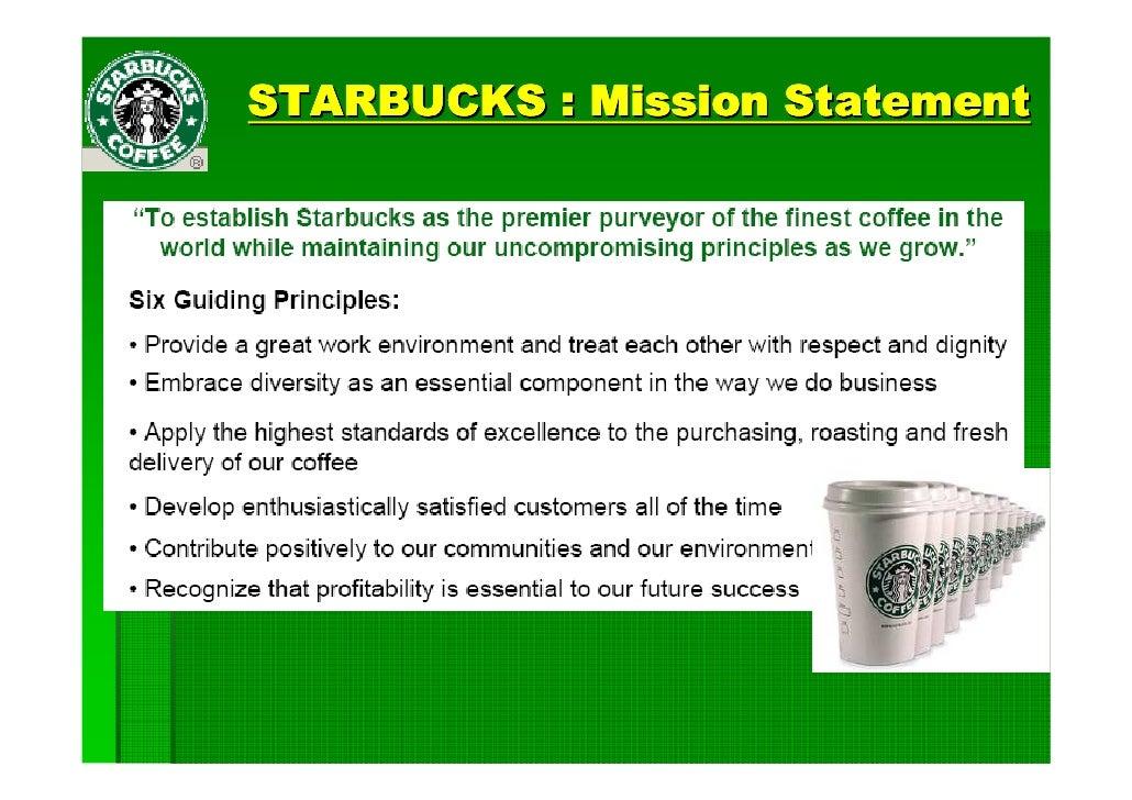 Starbucks the keys to creating value