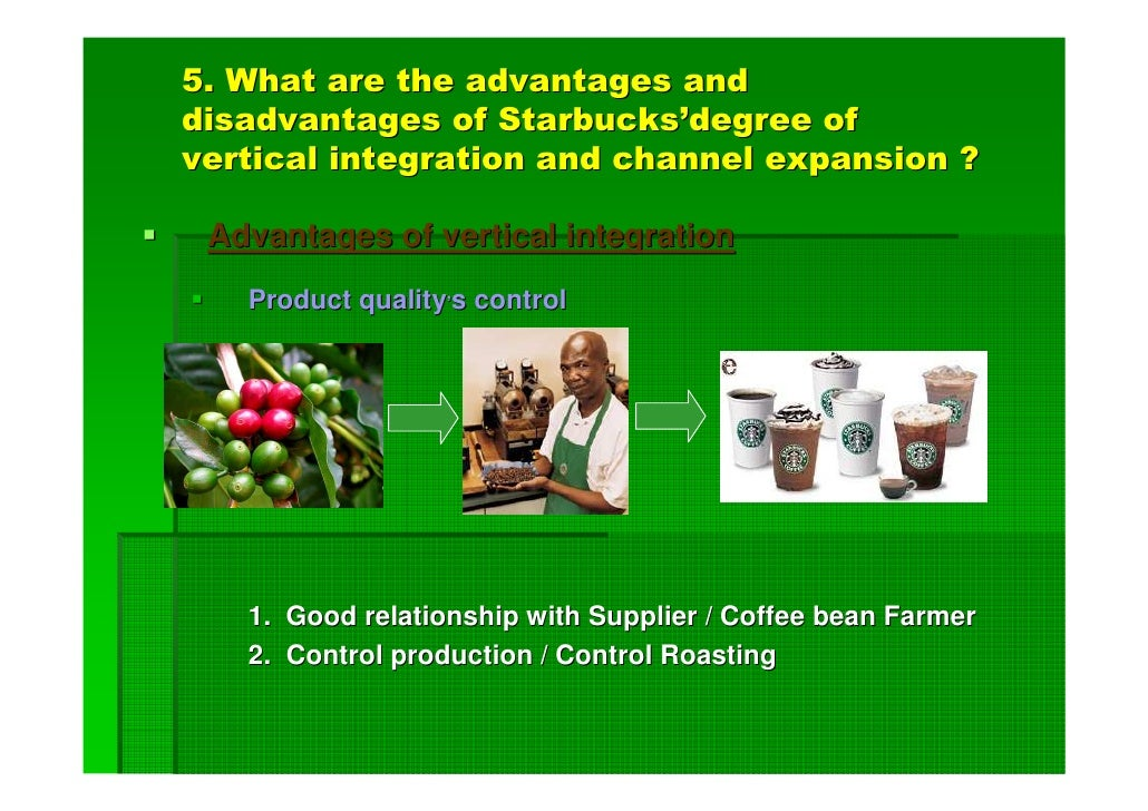 disadvantage of starbucks 4 disadvantage these brands endure would be the freshness of every cup starbucks has captivated this advantage by offering customers fresh coffee daily.
