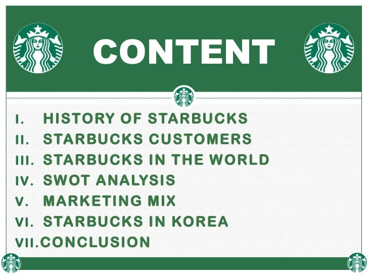 International marketing of starbucks