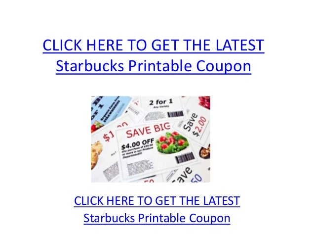 picture about Starbucks Coupon Printable named Starbucks Printable Coupon - Starbucks Printable Coupon Code