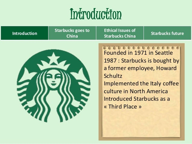 introduction of starbucks case study Work cited page 1 introduction to set of your master thesis americans who like  apple, the starbucks case study dec 23 is one study and more.