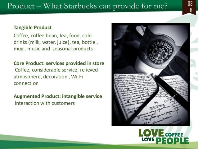 starbucks core product Foolish takeaway starbucks' menu expansion is the core element of its domestic growth strategy the new items are drawing in more customers at times that starbucks stores have traditionally.