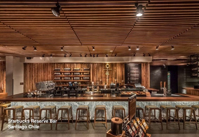 Starbucks Reserve Bar Santiago Chile