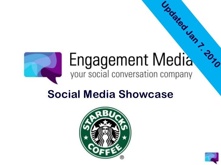 Updated Jan 7. 2010<br />Social Media Showcase<br />