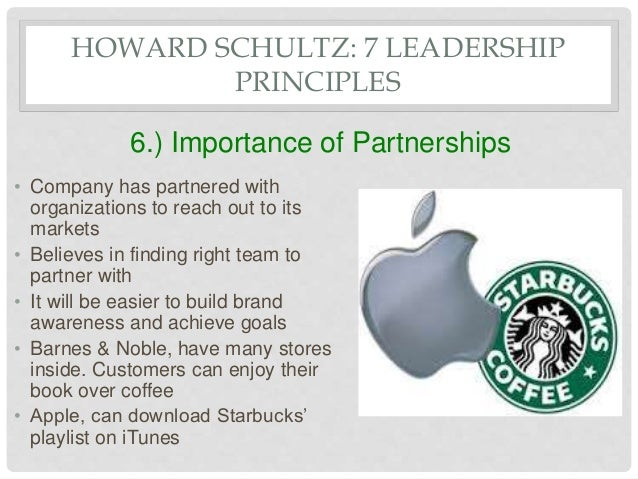 starbucks leadership Starbucks ceo howard schultz on the challenges of leading a turnaround at the company he made a household name.