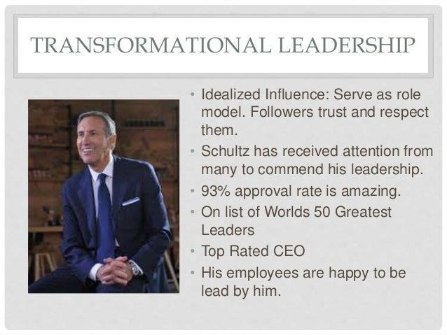howard schultz leadership skills