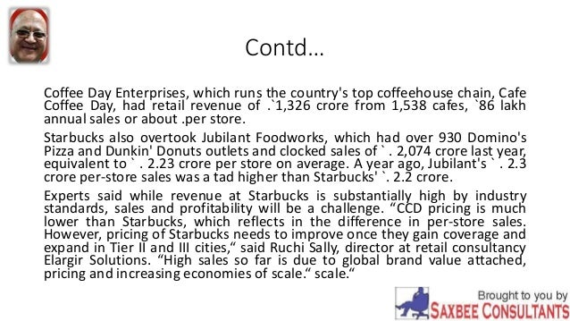 Cafe Coffee Day Annual Report