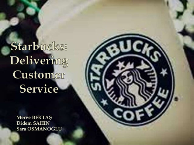starbucks delivering customer satisfaction an outline Analysis of starbucks delivering customer service join starbucks' customer satisfaction all analysis of starbucks delivering customer service essays and.