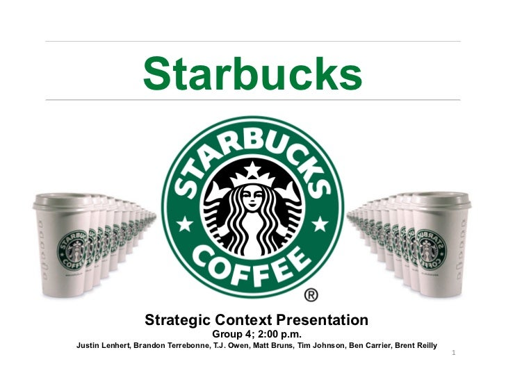starbucks case study final Answer to starbucks: a story of growth case the final segment of the case explains some of the changes that have been put into pla.