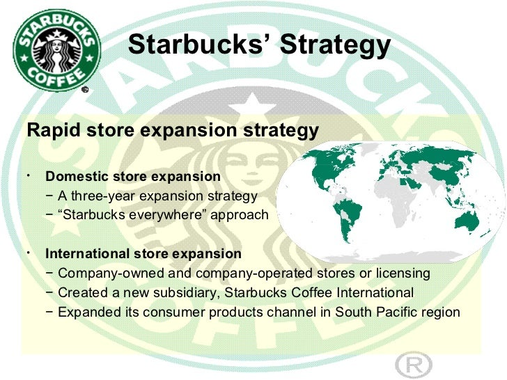 starbuckss international strategy School of sustainable development of society and technology master thesis course - international business and entrepreneurship efo 705/ mima entry modes of starbucks.