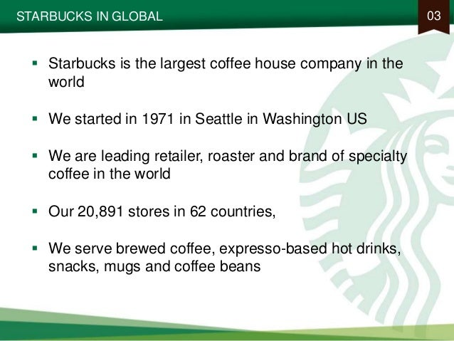 situational analysis and marketing plan for starbucks The goal of this paper is to analyze the most important marketing strategies that can be  found in the previous section has been accomplished by using a swot  for instance, in the case of starbucks company, the marketing strategy is.