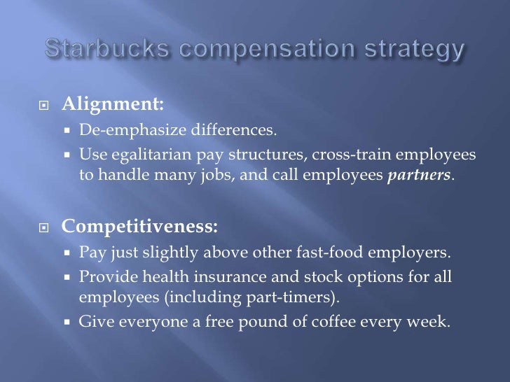 Starbucks stock options for employees