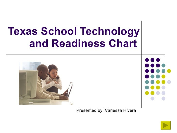 Texas School Technology and Readiness Chart  Presented by: Vanessa Rivera