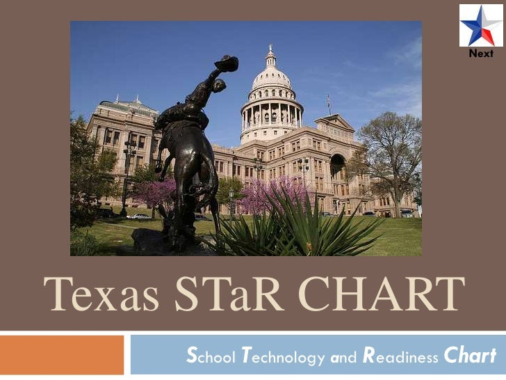 Next     Texas STaR CHART      School Technology and Readiness Chart