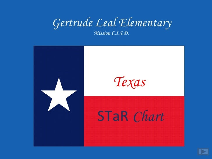 Texas   STaR  Chart Gertrude Leal Elementary Mission C.I.S.D.