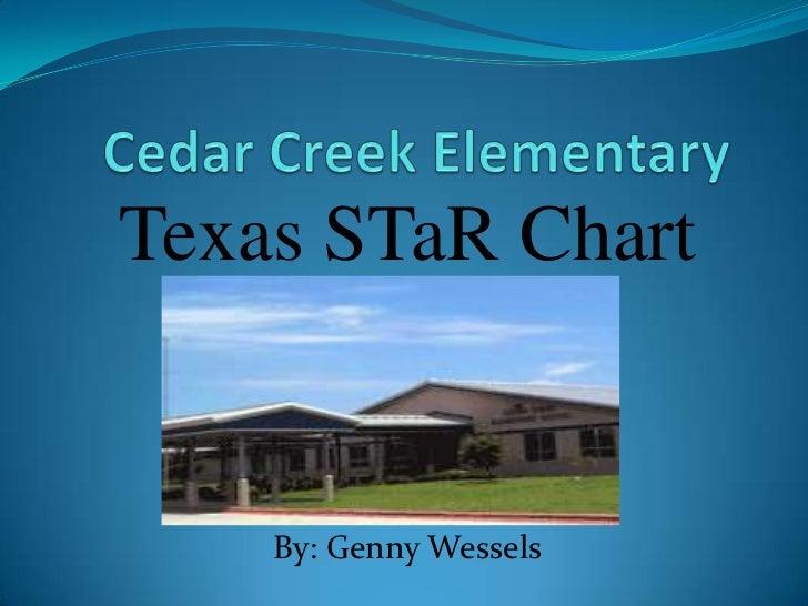 Cedar Creek Elementary<br />Texas STaR Chart<br />By: Genny Wessels<br />