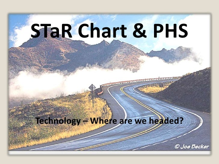 STaR Chart & PHS<br />Technology – Where are we headed?<br />