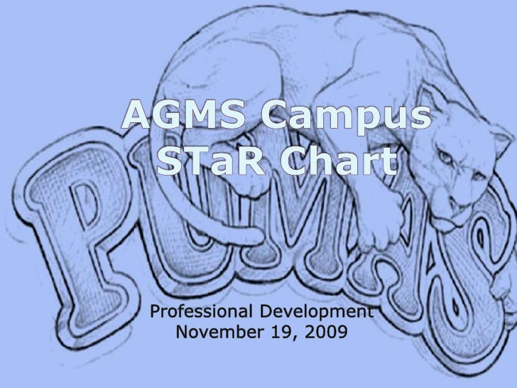 AGMS CampusSTaR Chart<br />Professional Development<br />November 19, 2009<br />