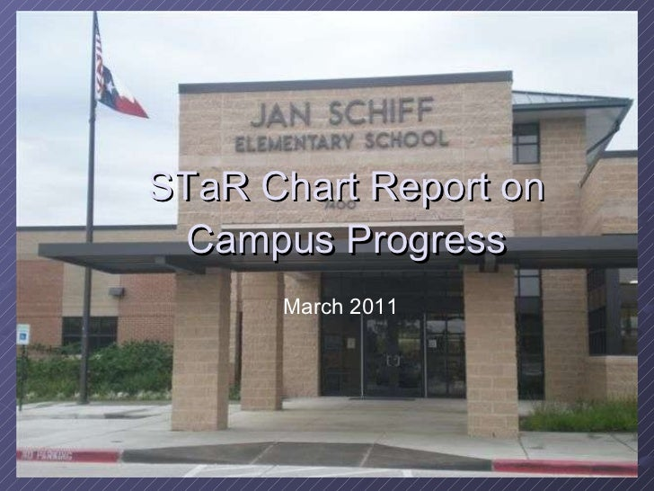 STaR Chart Report on Campus Progress March 2011
