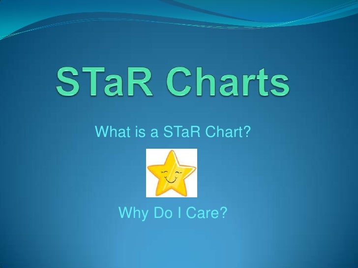 STaR Charts <br />What is a STaR Chart?<br />Why Do I Care?<br />