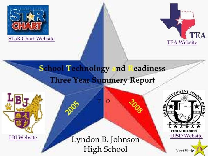 STaR Chart Website                                                 TEA Website                   School Technology and Rea...