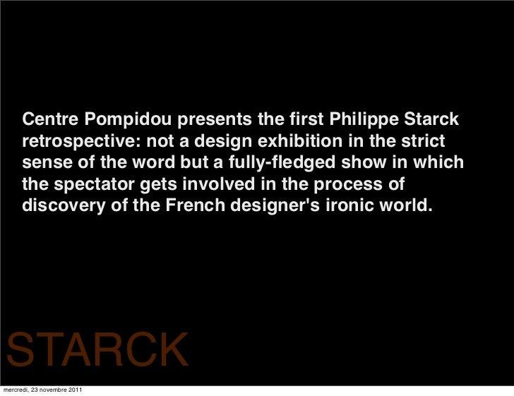 starck at pompidou 23 novembre 29