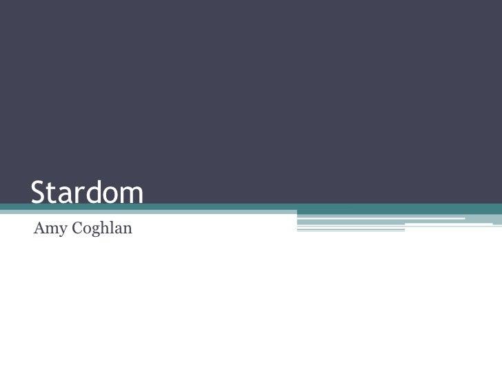 StardomAmy Coghlan