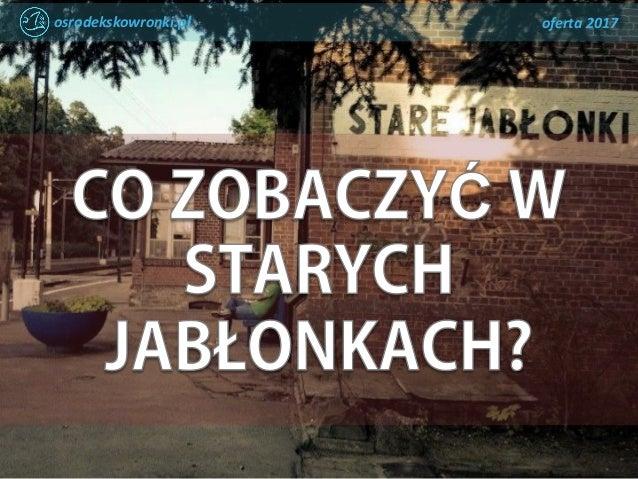 osrodekskowronki.pl oferta 2017