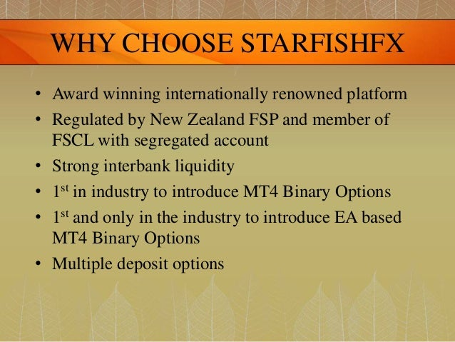 Starfishfx binary options