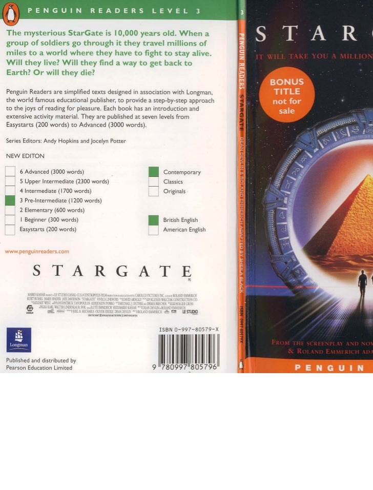 The mysterious StarGate is 10,000 years old. When agroup of soldiers go through it they travel millions ofmiles to a world...