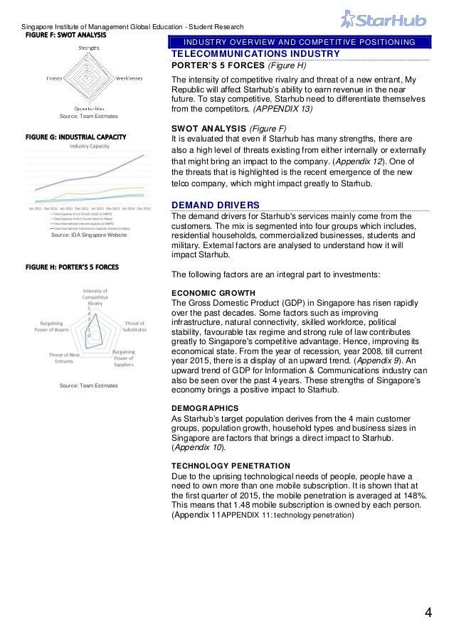 starhub analysis This completes my analysis of starhub's business model next up, i'll analyze five key financial metrics of the singtel, m1,.