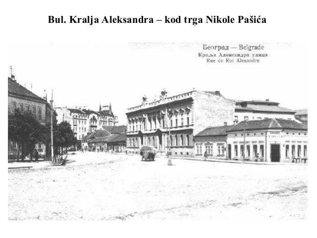 Bul. Kralja Aleksandra – kod trga Nikole Pašića