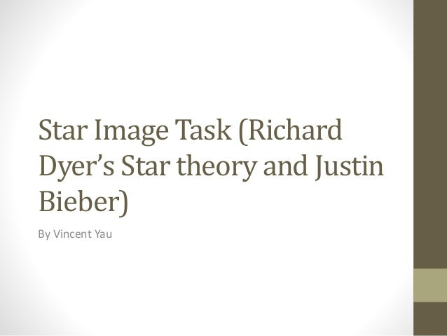 Star Image Task (Richard Dyer's Star theory and Justin Bieber) By Vincent Yau