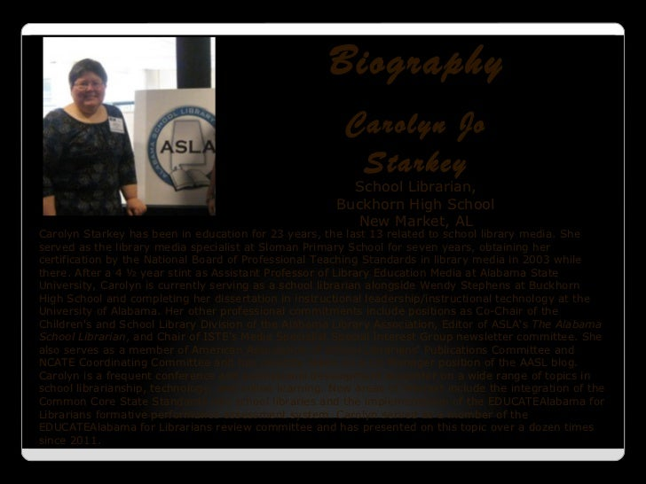 Biography                                                         Carolyn Jo                                              ...