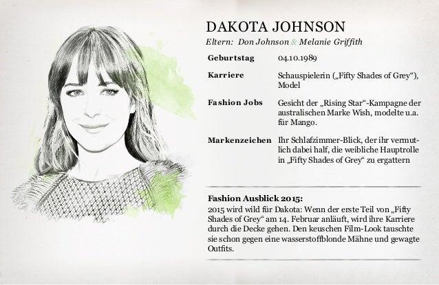 """Eltern: Fashion Ausblick 2015: 2015 wird wild für Dakota: Wenn der erste Teil von """"Fifty Shades of Grey"""" am 14. Februar an..."""