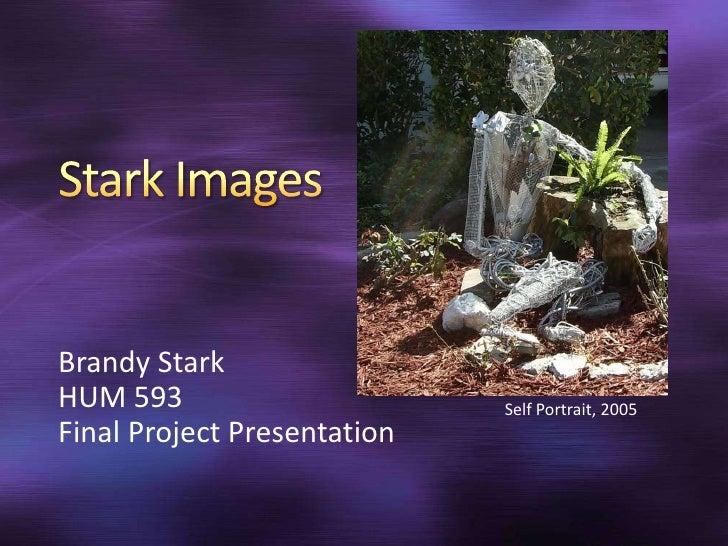 Stark Images<br />Brandy Stark <br />HUM 593<br />Final Project Presentation<br />Self Portrait, 2005<br />