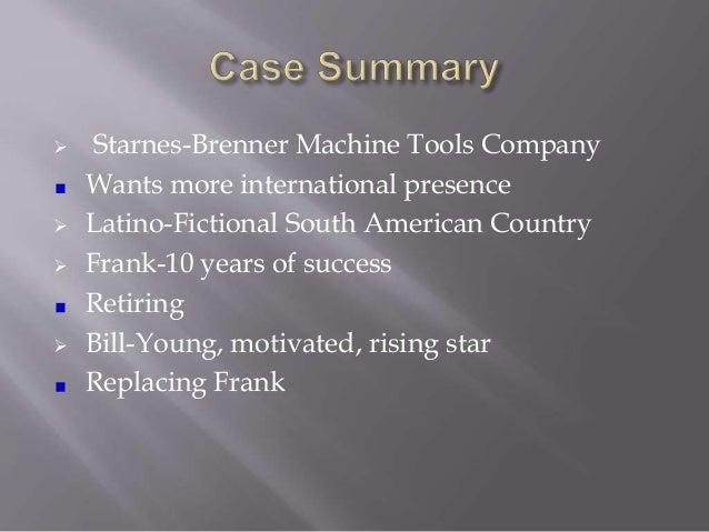 Company Analysis: Hampton Machine Tool Company