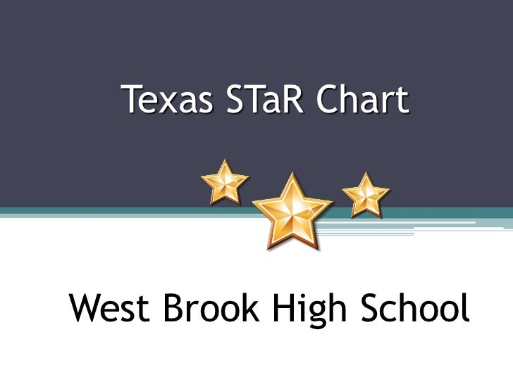 Texas STaR Chart<br />A TEA Recognized Campus<br />West Brook High School<br />
