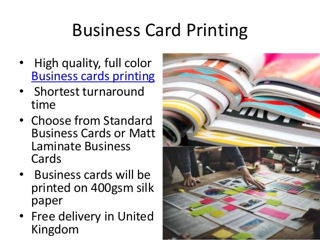 11 Business Card Printing