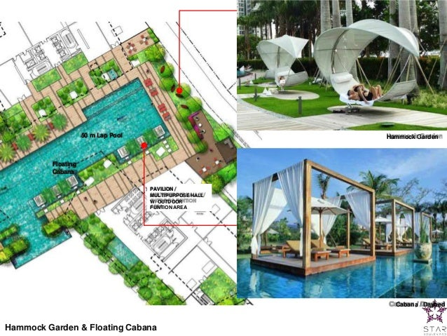 cabana   daybed hammock     star residences presentation slides  rh   slideshare