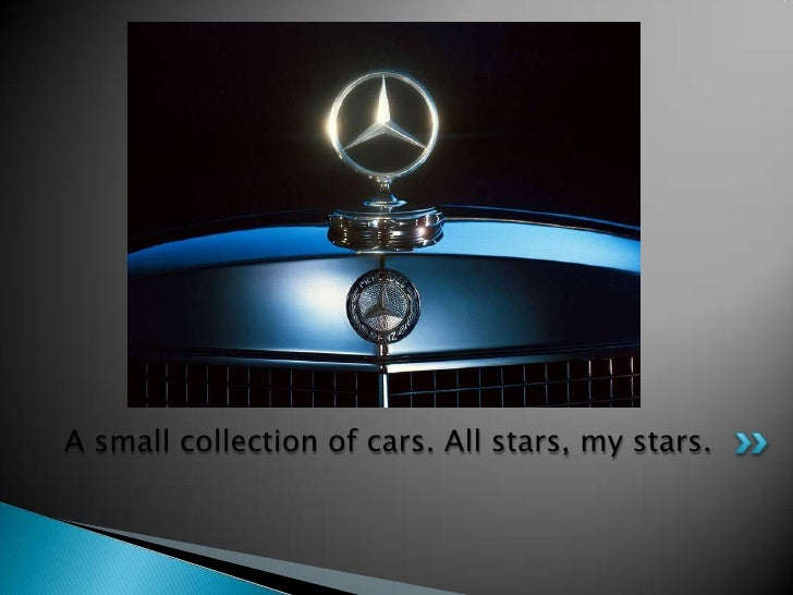 A small collection of cars. All stars, my stars.