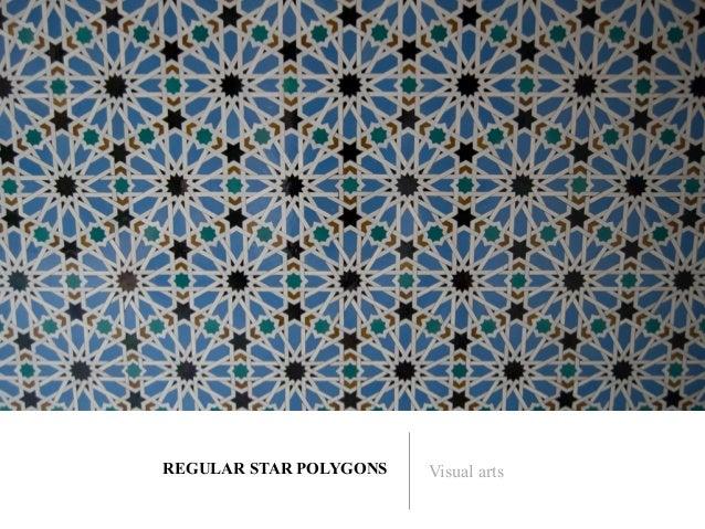 REGULAR STAR POLYGONS   Visual arts