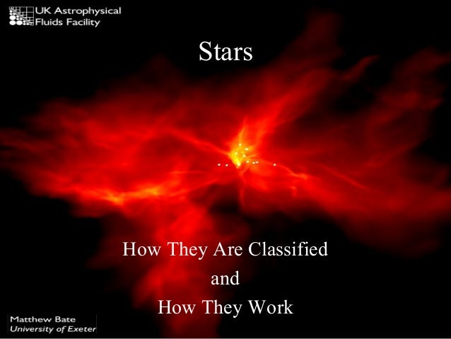 Stars  How They Are Classified and How They Work