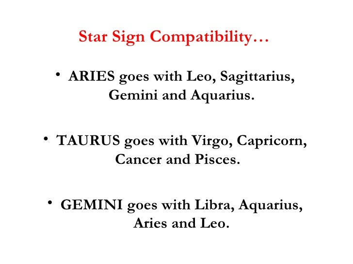 star sign relationship compatibility test